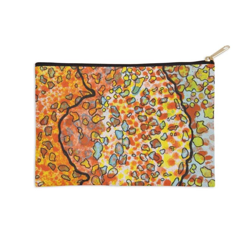 2, Inset B Accessories Zip Pouch by Katie Schutte Art