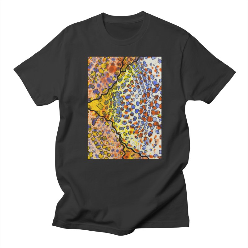 3, Inset A Men's T-Shirt by Katie Schutte Art