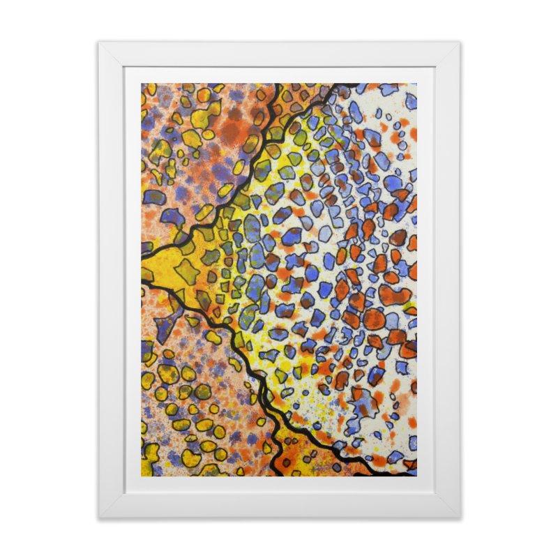 3, Inset A Home Framed Fine Art Print by Katie Schutte Art