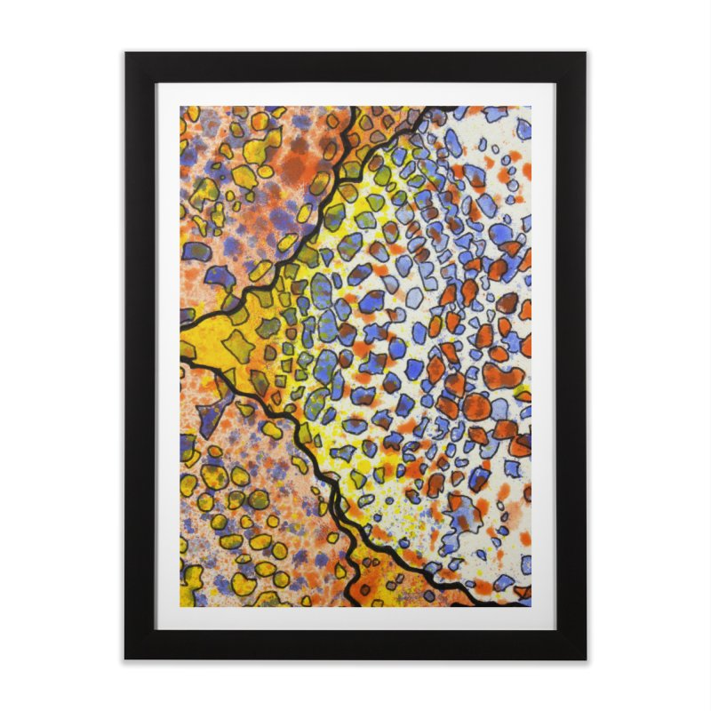3, Inset A Home Framed Fine Art Print by Katie Schutte Art