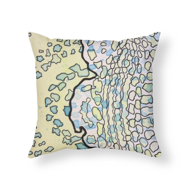 1, Inset A Home Throw Pillow by Katie Schutte Art