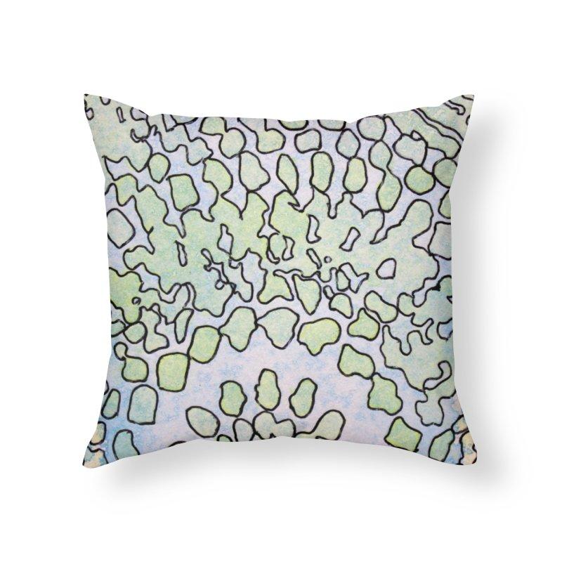 1, Inset B Home Throw Pillow by Katie Schutte Art