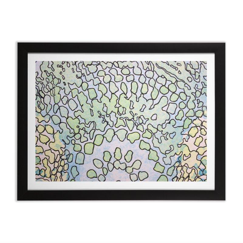 1, Inset B Home Framed Fine Art Print by Katie Schutte Art