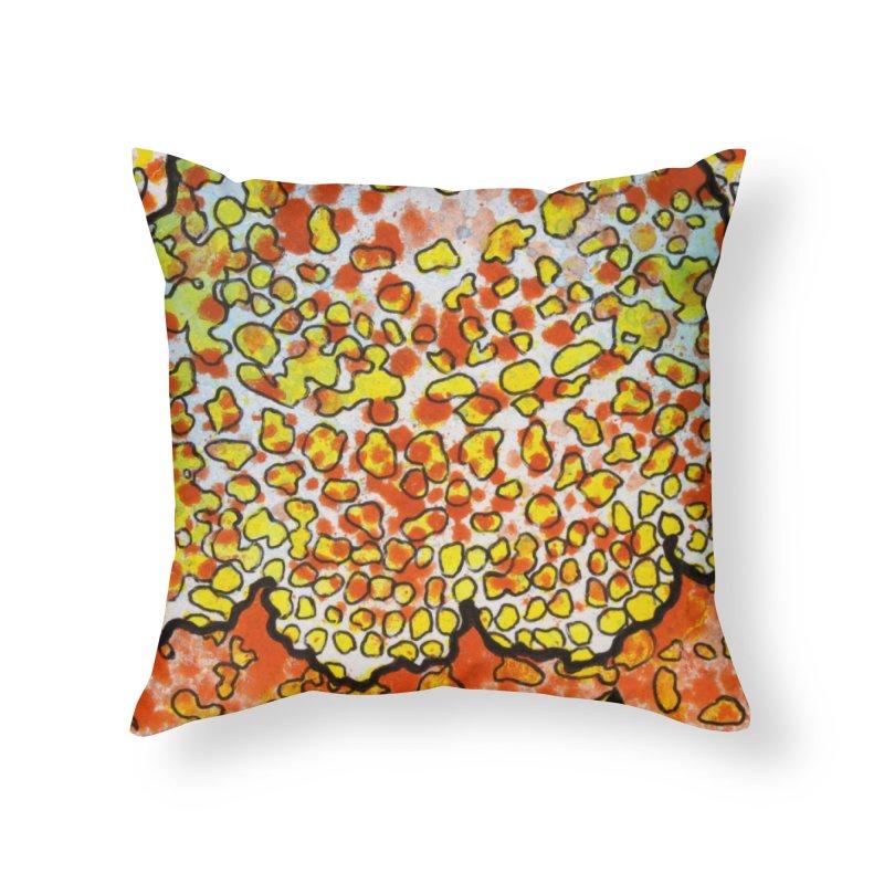 2, Inset A Home Throw Pillow by Katie Schutte Art