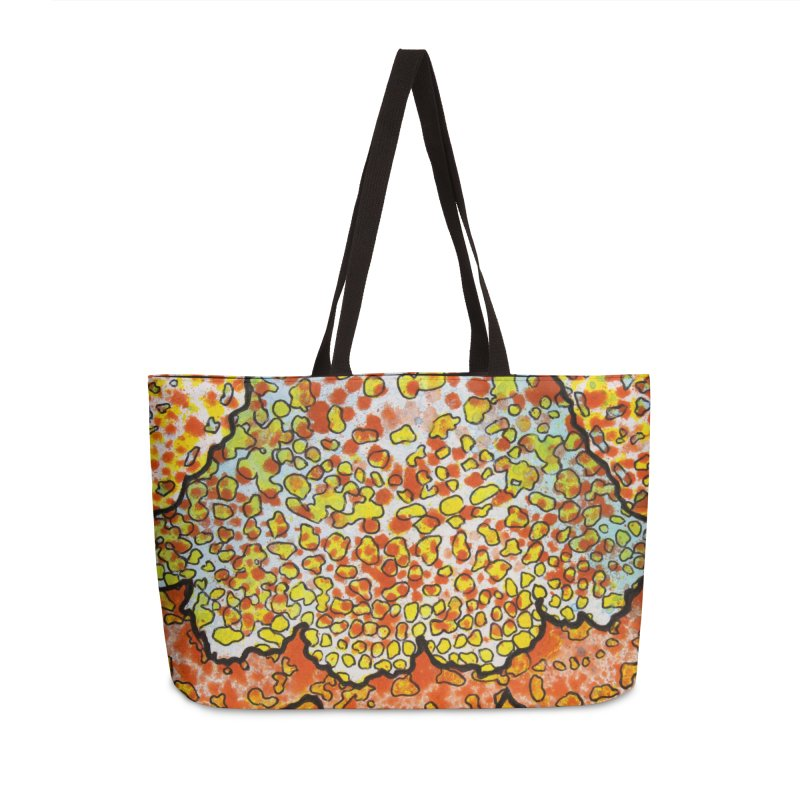 2, Inset A Accessories Weekender Bag Bag by Katie Schutte Art