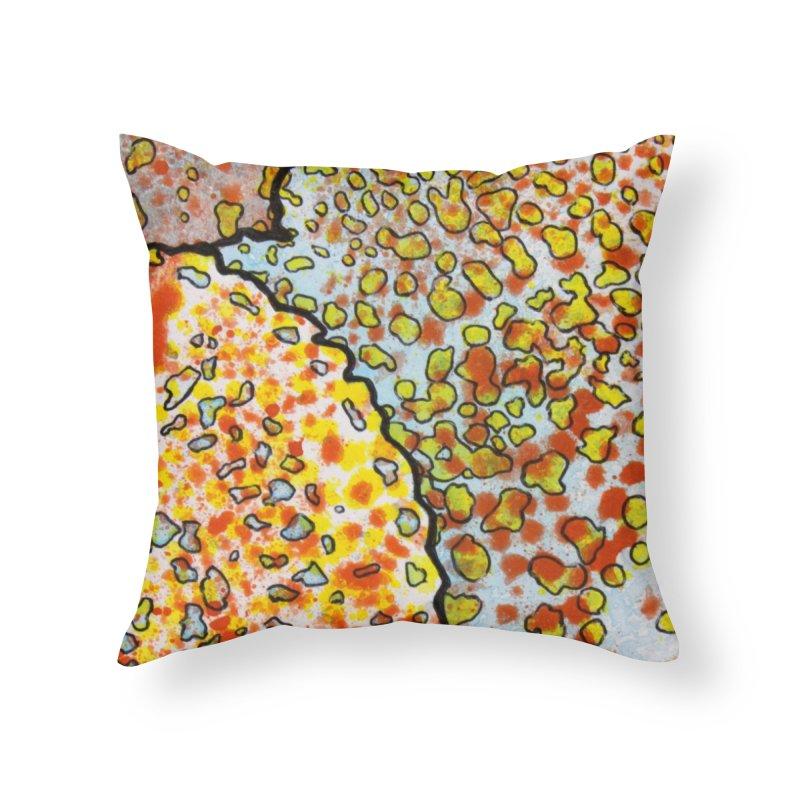 2, Inset C Home Throw Pillow by Katie Schutte Art