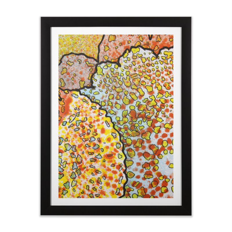 2, Inset C Home Framed Fine Art Print by Katie Schutte Art