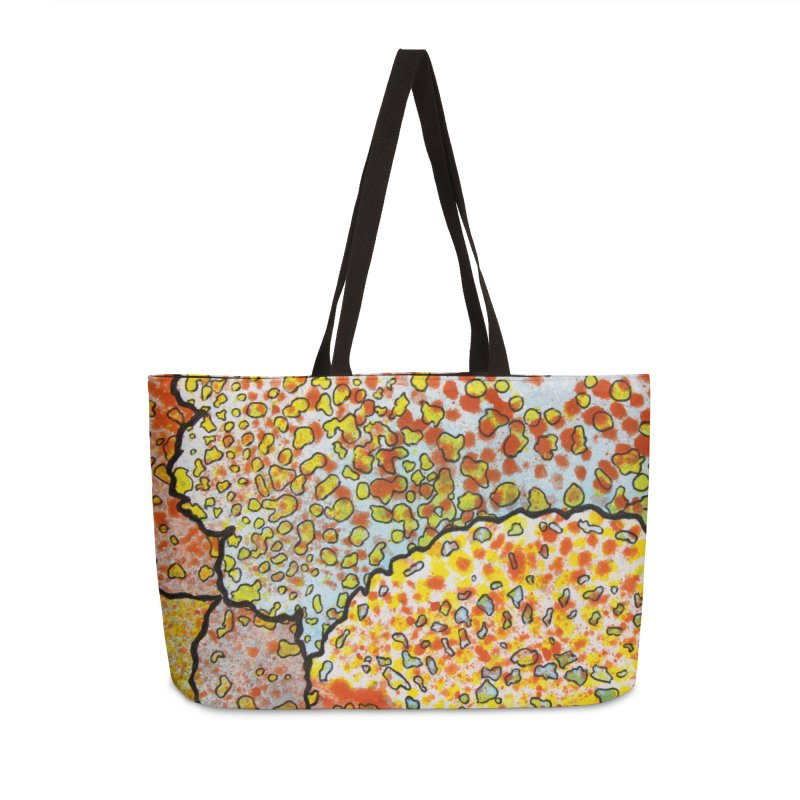 2, Inset C Accessories Weekender Bag Bag by Katie Schutte Art