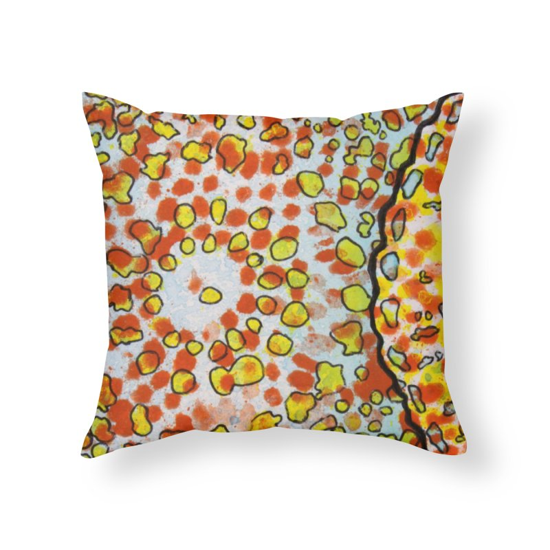 2, Inset D Home Throw Pillow by Katie Schutte Art