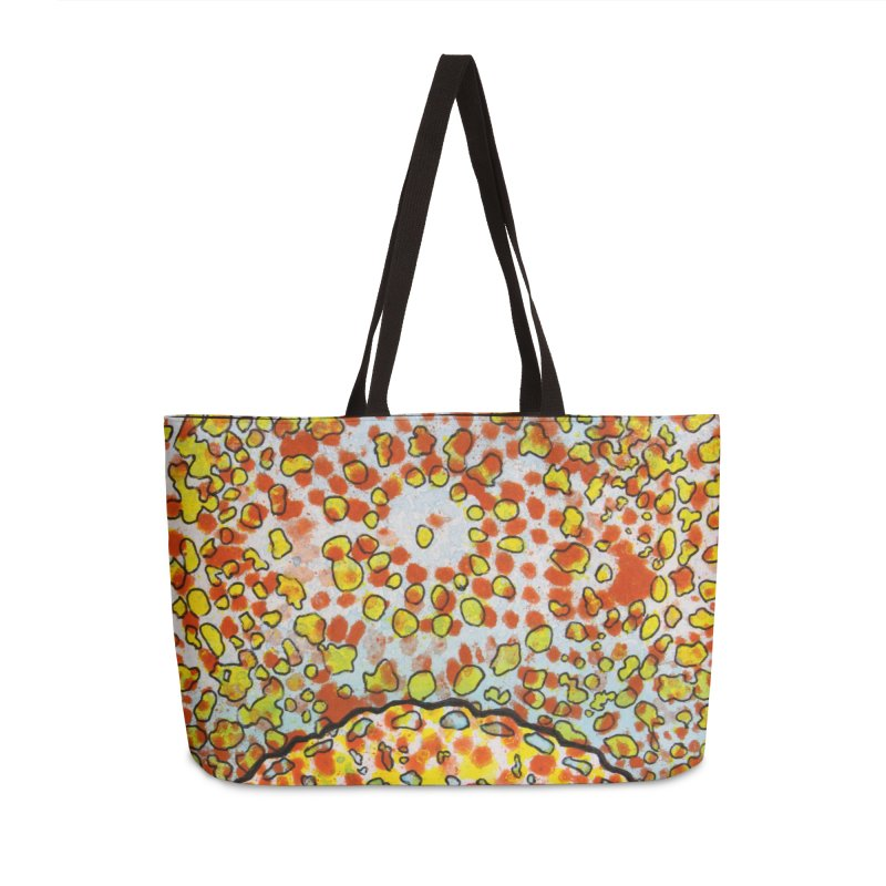 2, Inset D Accessories Weekender Bag Bag by Katie Schutte Art