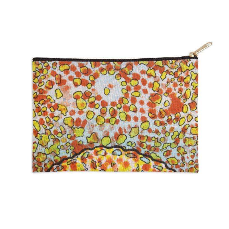 2, Inset D Accessories Zip Pouch by Katie Schutte Art