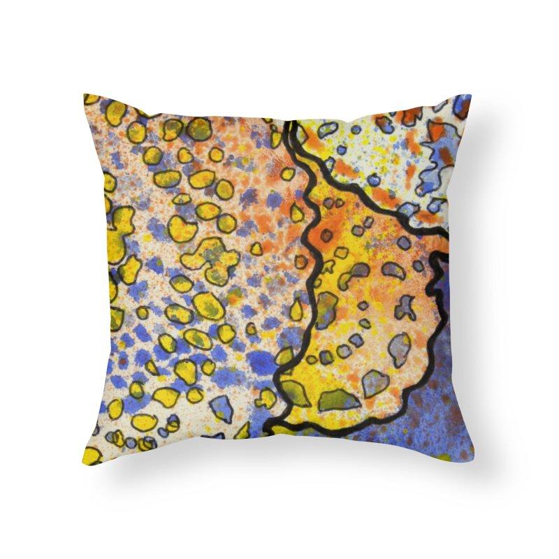 3, Inset B Home Throw Pillow by Katie Schutte Art