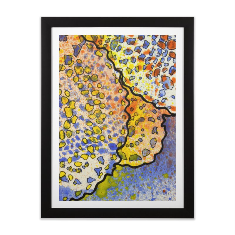 3, Inset B Home Framed Fine Art Print by Katie Schutte Art