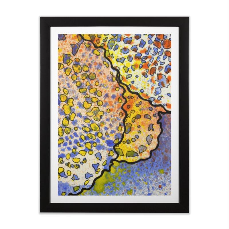 3, Inset B Home Framed Fine Art Print by Katie Schutte Art