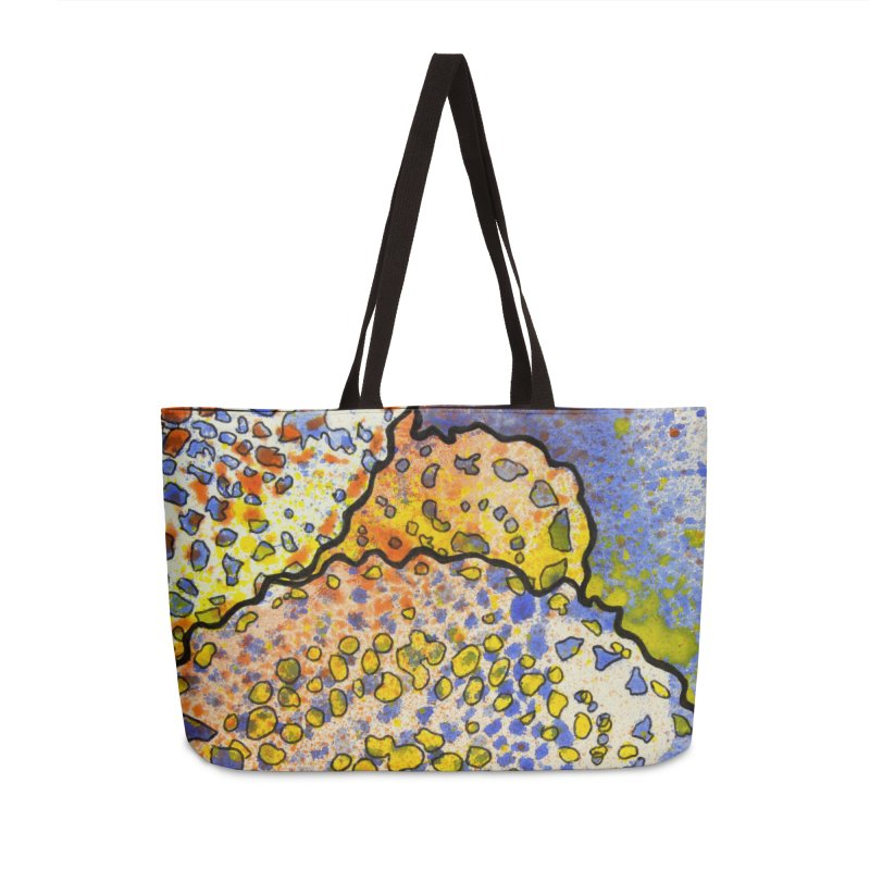 3, Inset B Accessories Weekender Bag Bag by Katie Schutte Art