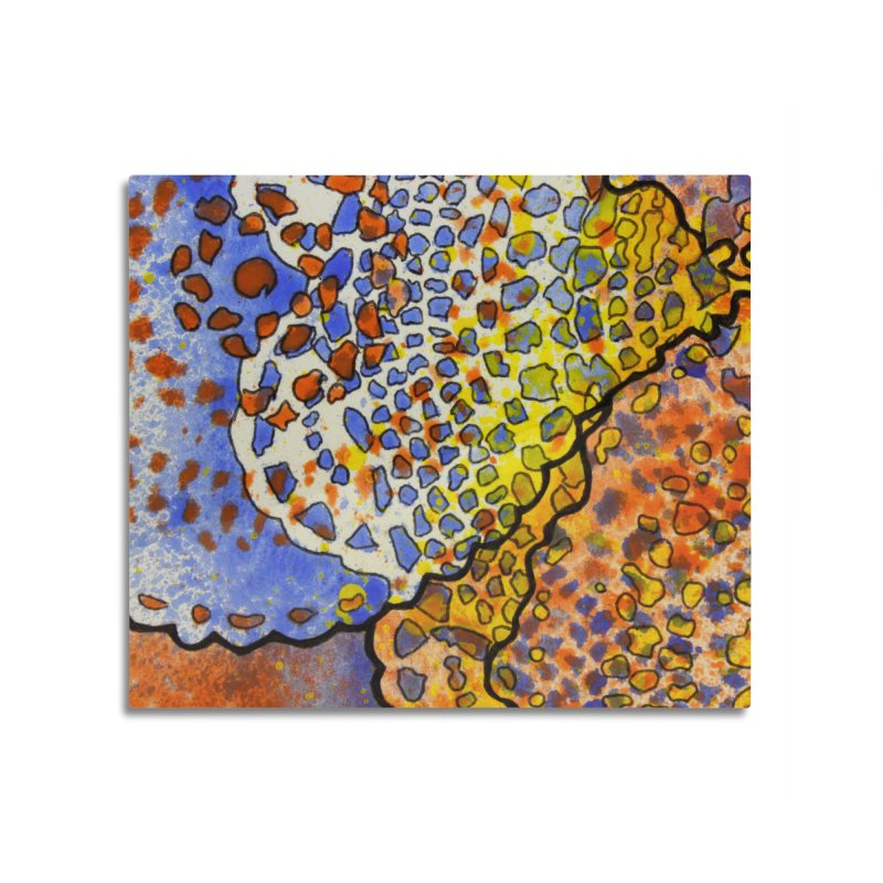 3, Inset C Home Mounted Aluminum Print by Katie Schutte Art