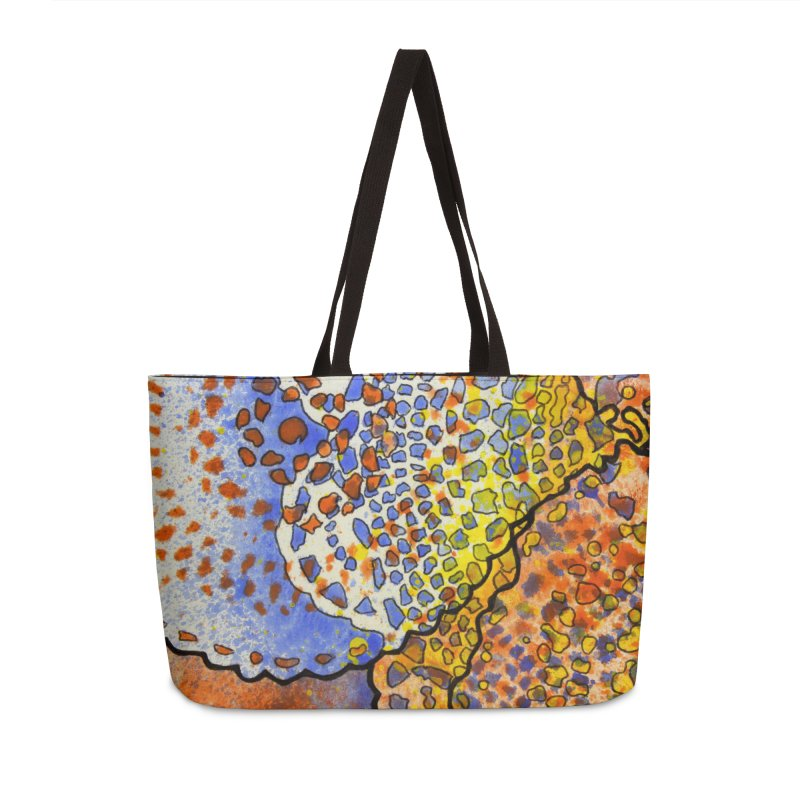 3, Inset C Accessories Weekender Bag Bag by Katie Schutte Art