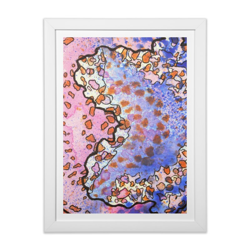 4, Inset A Home Framed Fine Art Print by Katie Schutte Art