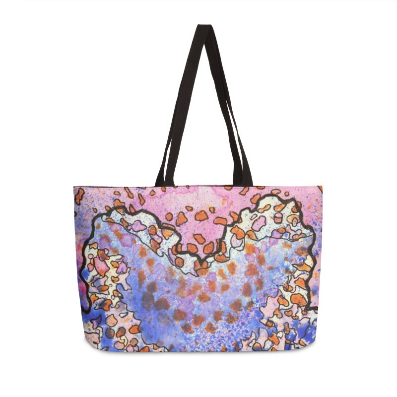 4, Inset A Accessories Weekender Bag Bag by Katie Schutte Art