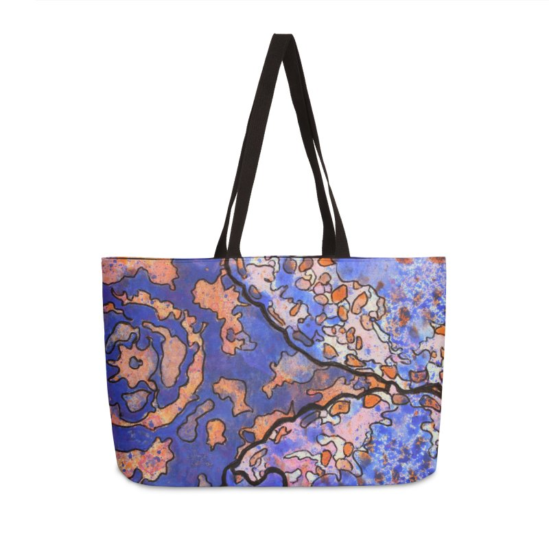 4, Inset B Accessories Weekender Bag Bag by Katie Schutte Art