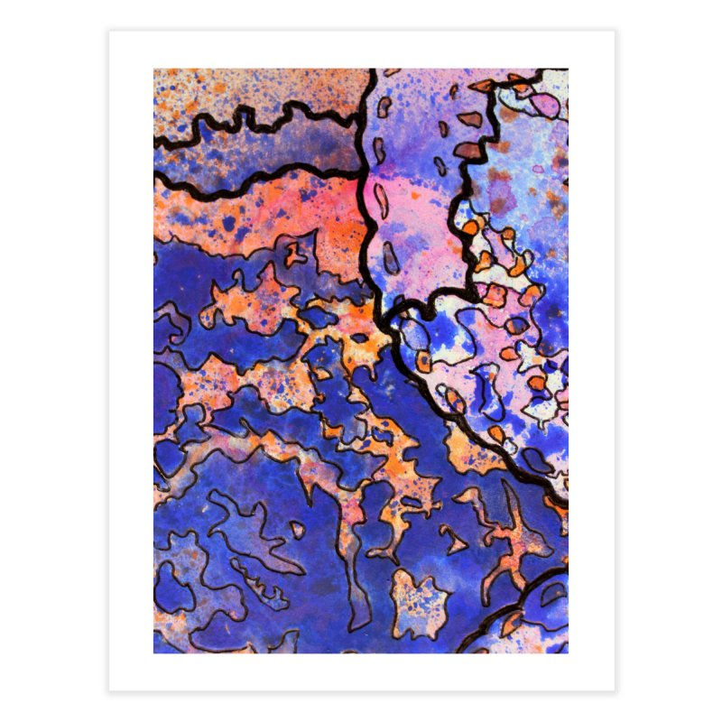 4, Inset C Home Fine Art Print by Katie Schutte Art
