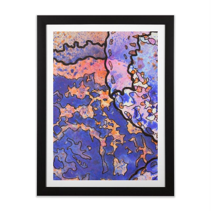 4, Inset C Home Framed Fine Art Print by Katie Schutte Art