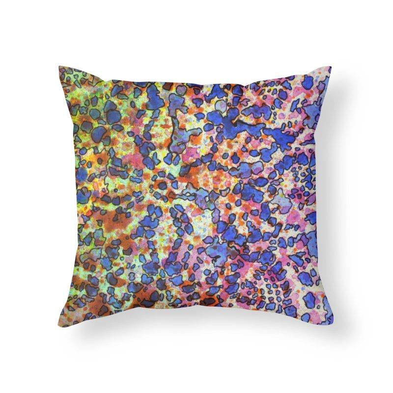 5, Inset A Home Throw Pillow by Katie Schutte Art