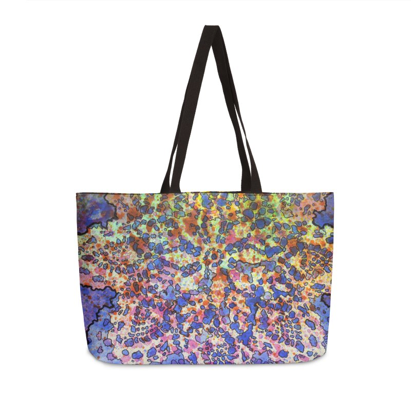 5, Inset A Accessories Weekender Bag Bag by Katie Schutte Art