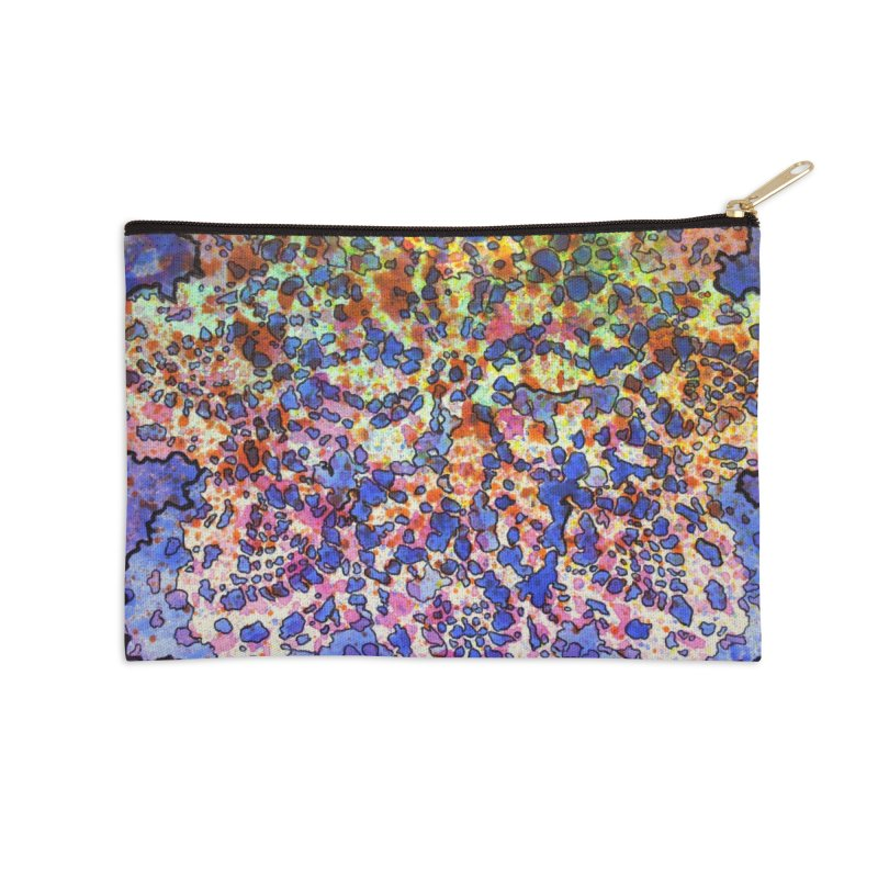 5, Inset A Accessories Zip Pouch by Katie Schutte Art