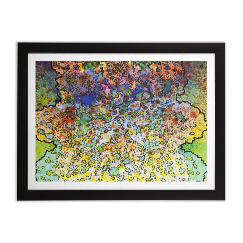 5, Inset C Home Framed Fine Art Print by Katie Schutte Art