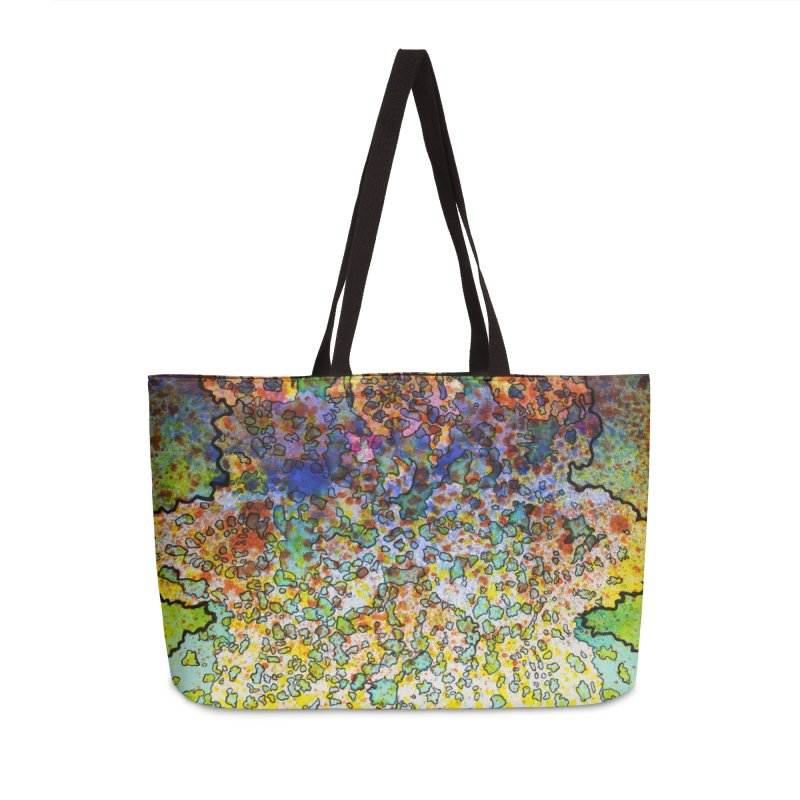 5, Inset C Accessories Weekender Bag Bag by Katie Schutte Art