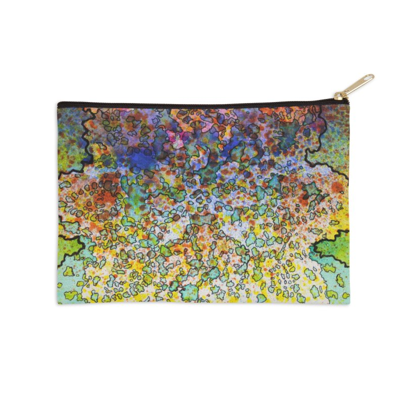 5, Inset C Accessories Zip Pouch by Katie Schutte Art