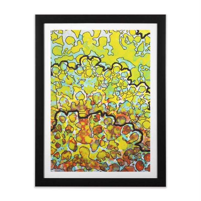 6, Inset A Home Framed Fine Art Print by Katie Schutte Art
