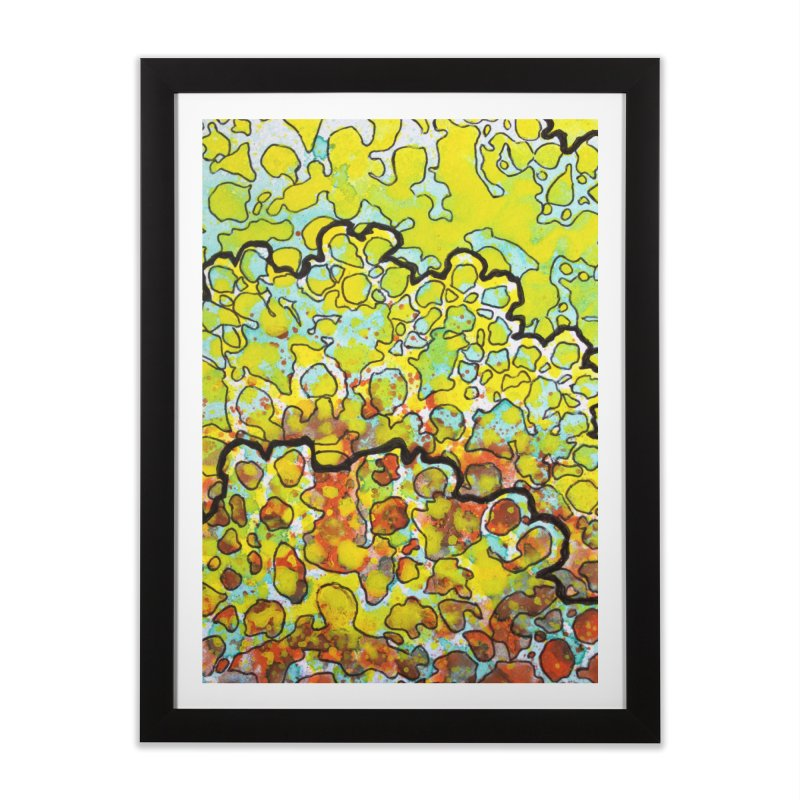 6, Inset A Home Framed Fine Art Print by Katie Schutte Art