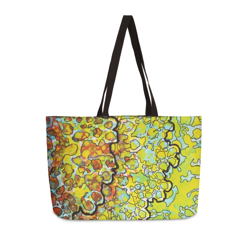 6, Inset A Accessories Weekender Bag Bag by Katie Schutte Art