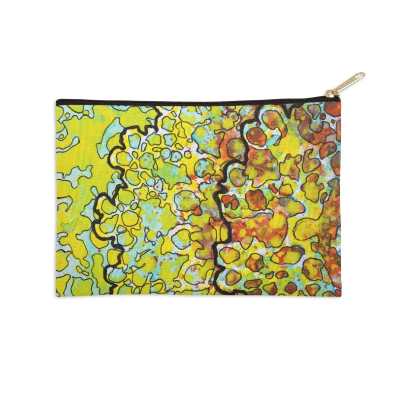 6, Inset A Accessories Zip Pouch by Katie Schutte Art
