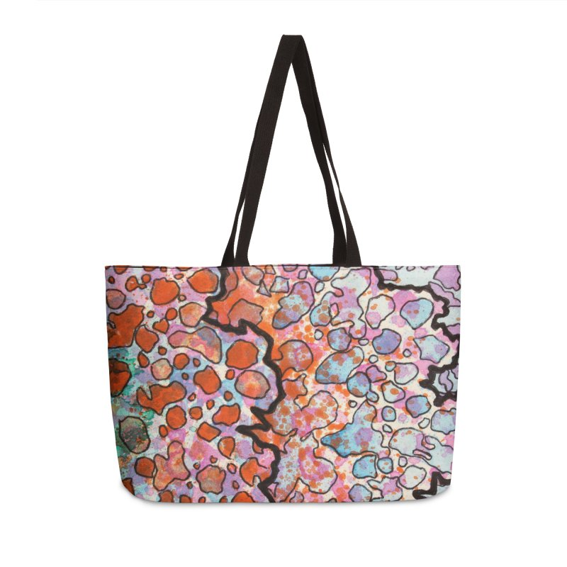 6, Inset B Accessories Weekender Bag Bag by Katie Schutte Art