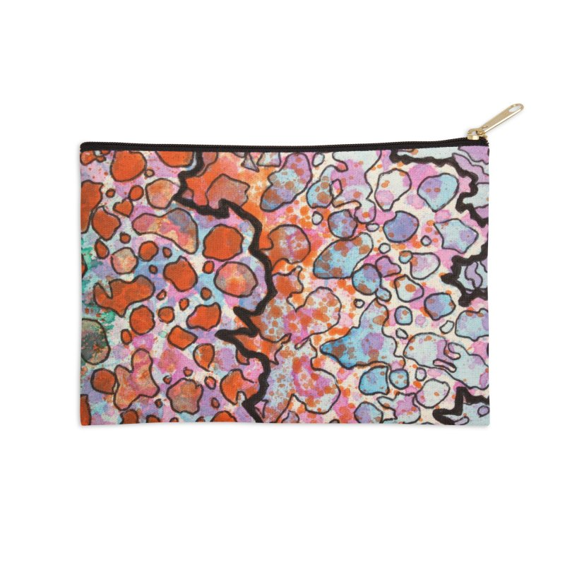 6, Inset B Accessories Zip Pouch by Katie Schutte Art