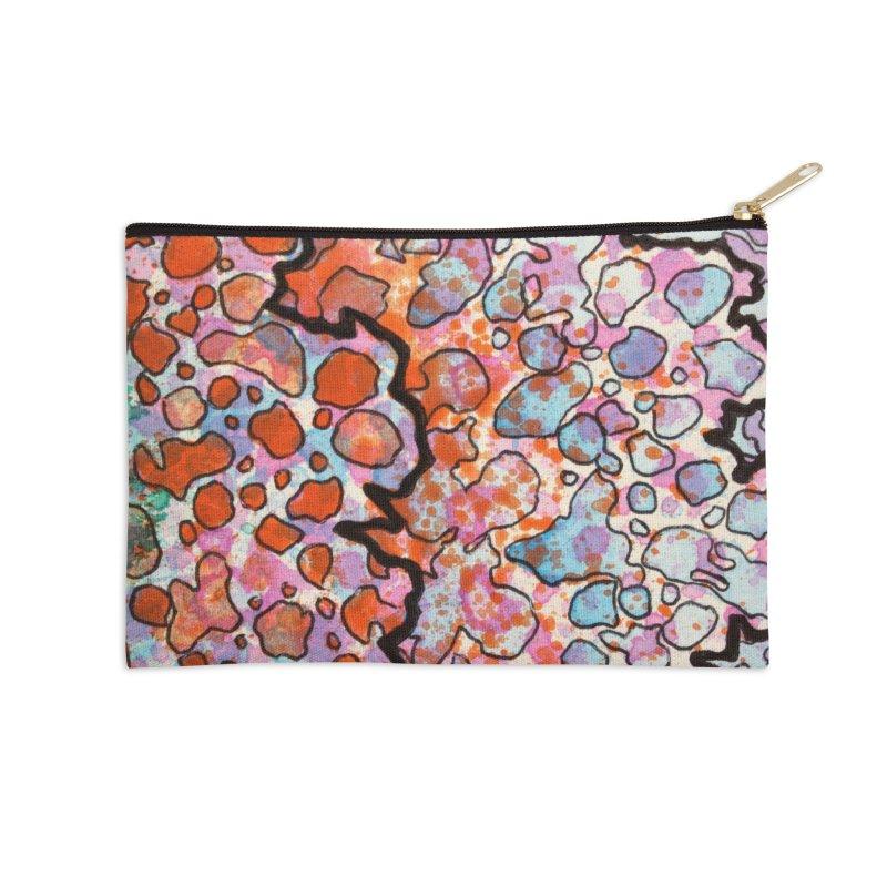 6, Inset B Accessories Zip Pouch by Katie Schutte Art