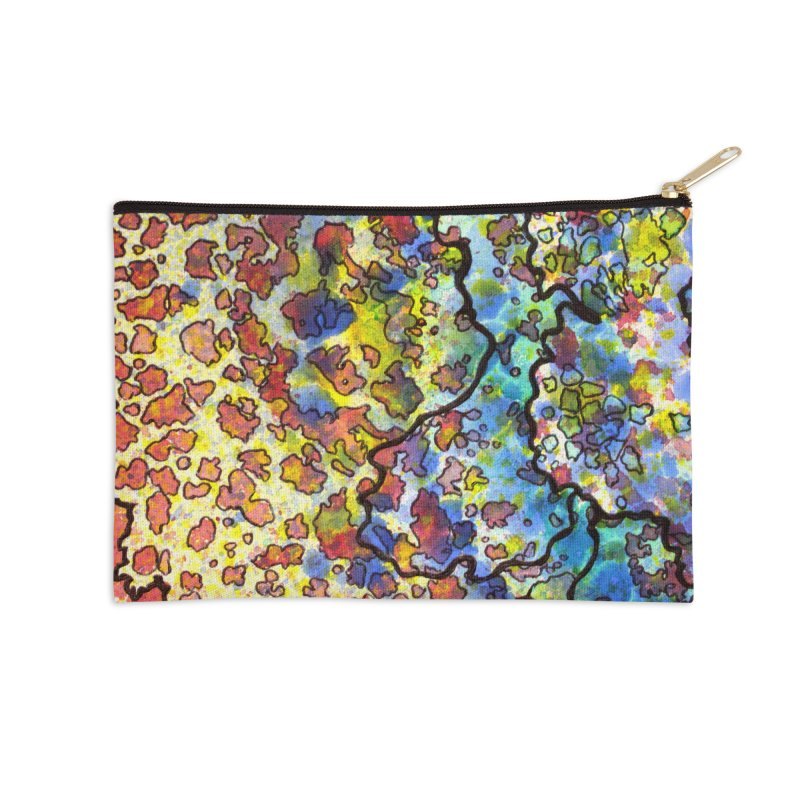 7, Inset A Accessories Zip Pouch by Katie Schutte Art