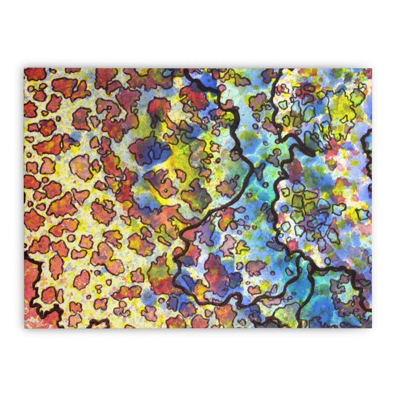 7, Inset A Home Stretched Canvas by Katie Schutte Art