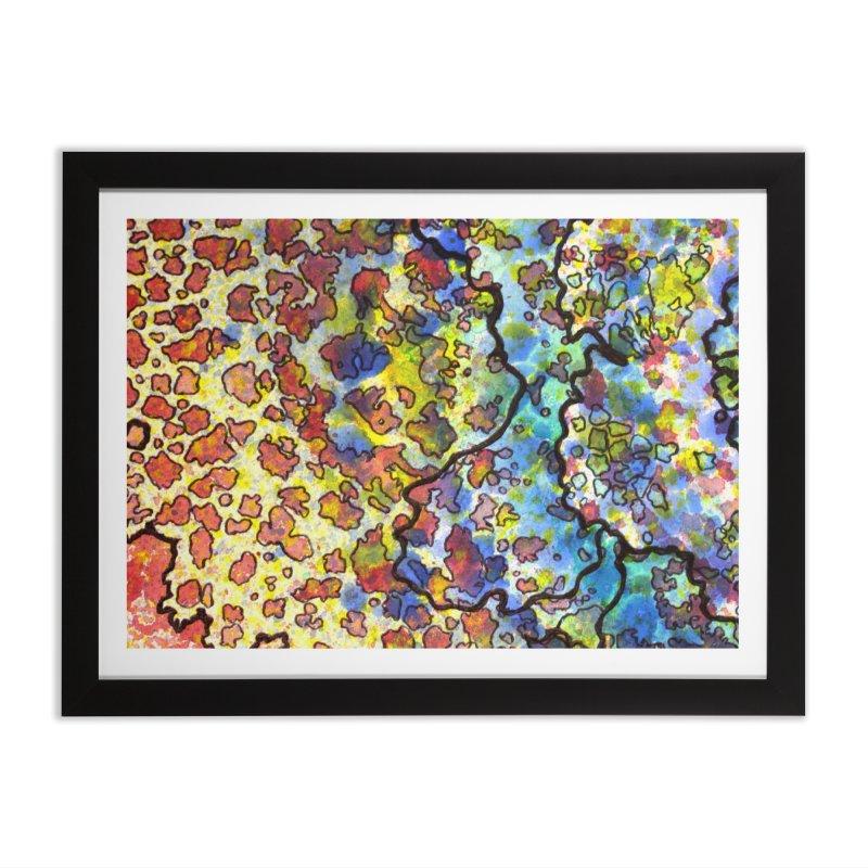 7, Inset A Home Framed Fine Art Print by Katie Schutte Art