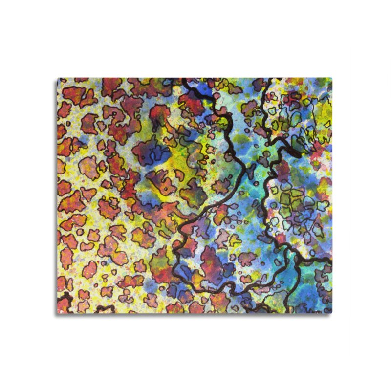 7, Inset A Home Mounted Acrylic Print by Katie Schutte Art