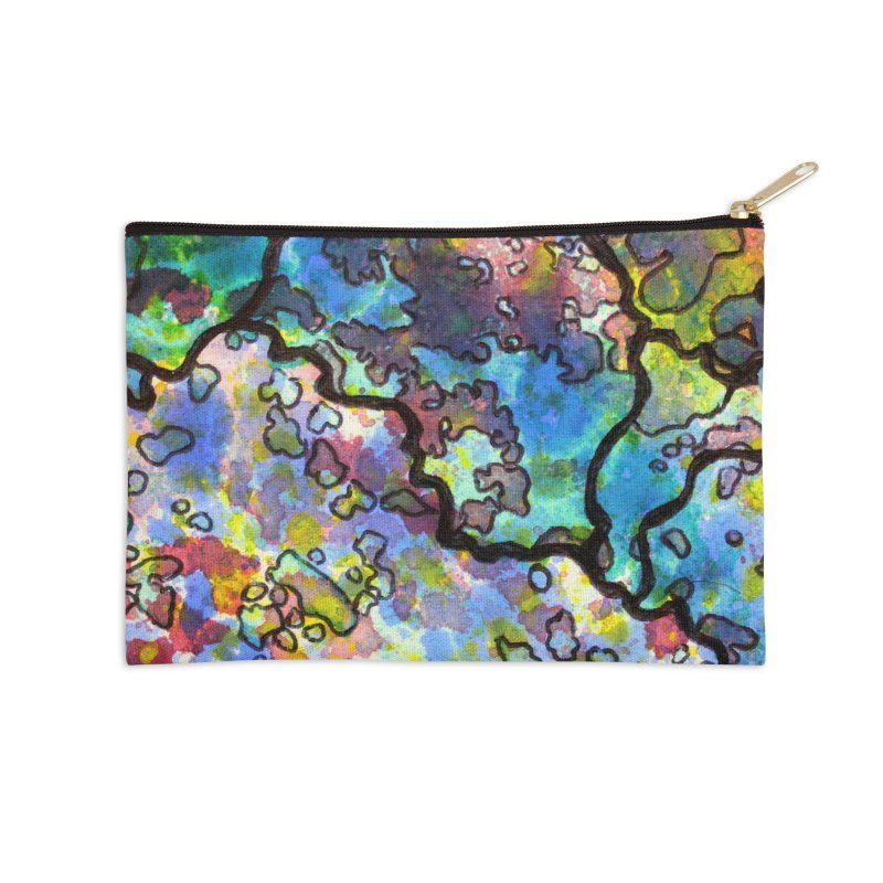 7, Inset B Accessories Zip Pouch by Katie Schutte Art