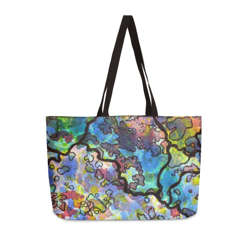 7, Inset B Accessories Weekender Bag Bag by Katie Schutte Art