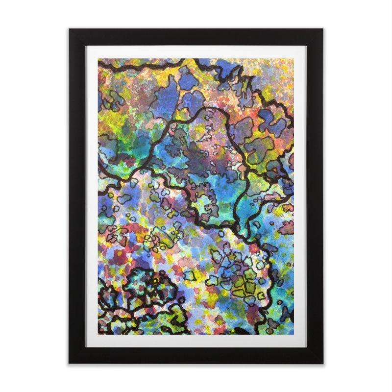 7, Inset B Home Framed Fine Art Print by Katie Schutte Art