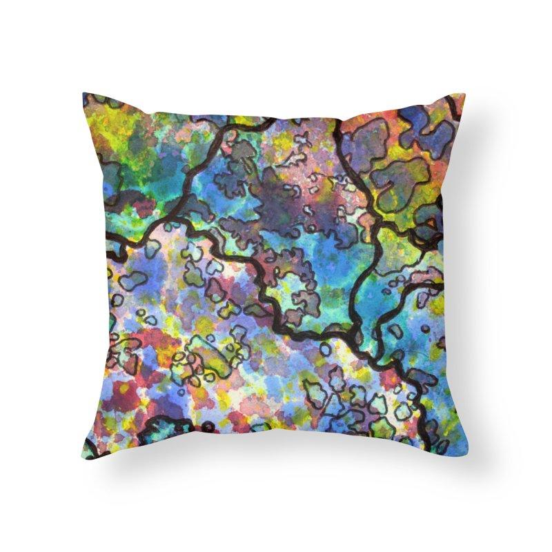 7, Inset B Home Throw Pillow by Katie Schutte Art