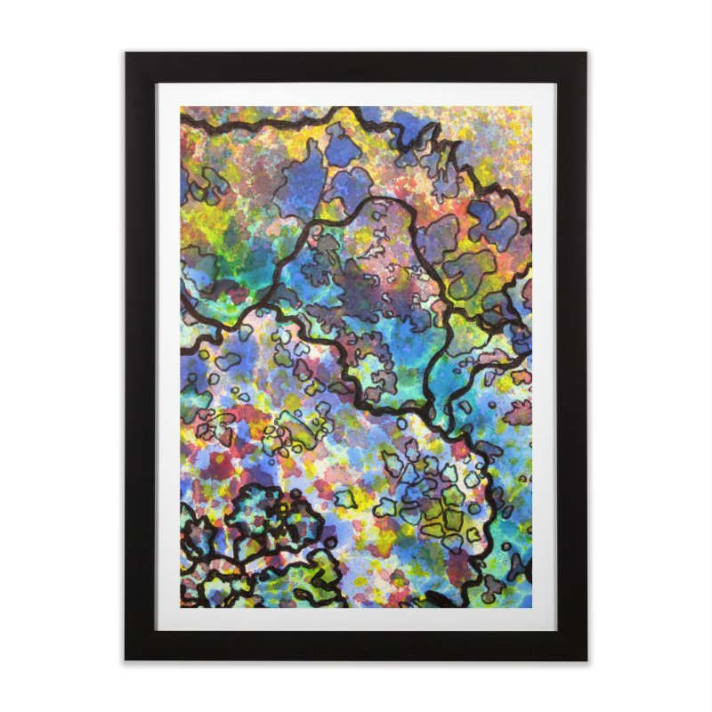 7, Inset B Home Framed Fine Art Print by Katie Schutte Art