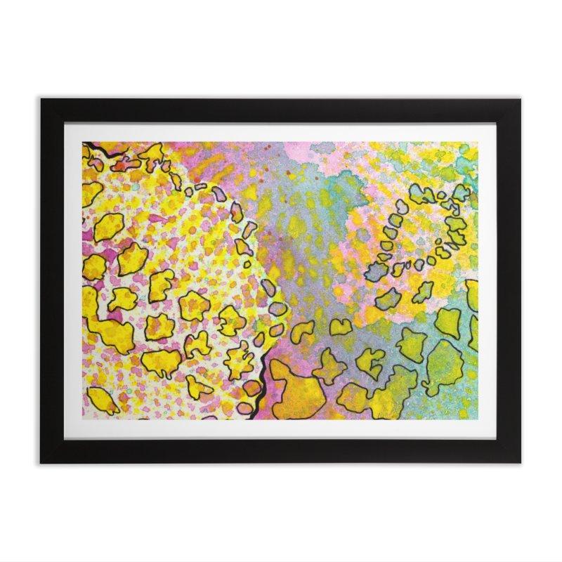 9, Inset A Home Framed Fine Art Print by Katie Schutte Art