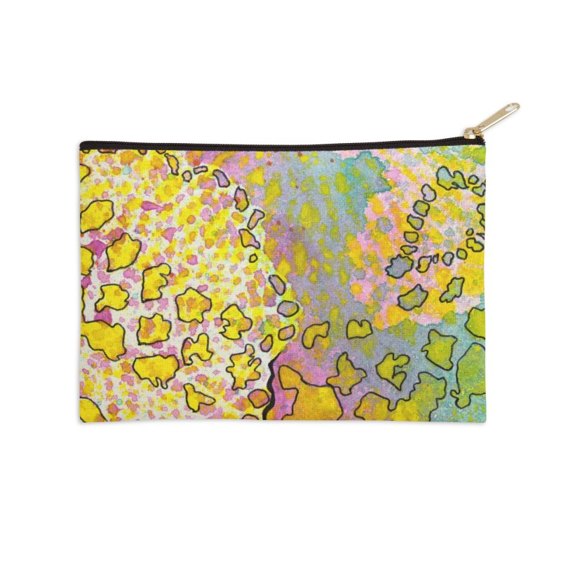 9, Inset A Accessories Zip Pouch by Katie Schutte Art